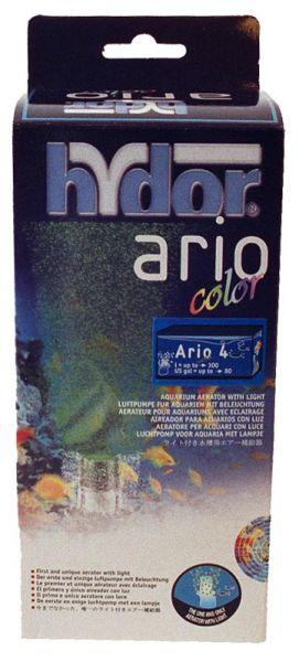 Hydor pomp+licht ario color 4 groen