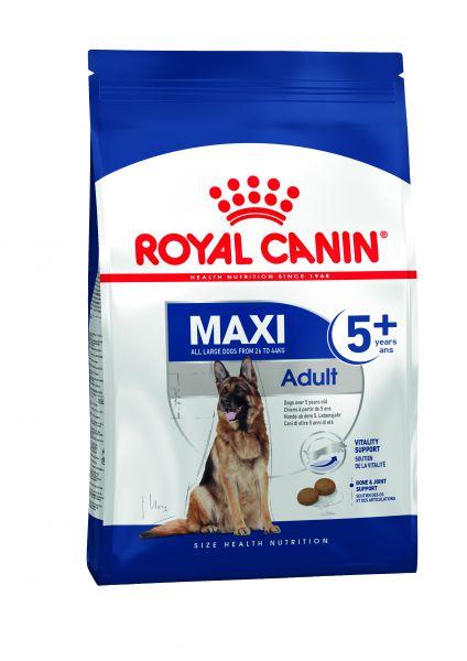 Afbeelding Royal Canin Maxi Adult 5+ hondenvoer 4 kg door Tims.nl