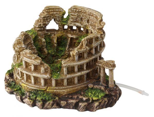 Colosseum aquarium decoratie
