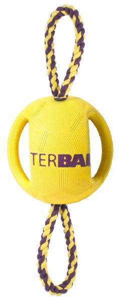 Petbrands interball double rope hondenspeelgoed