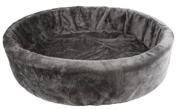 Petcomfort 90 cm bontmand grijs
