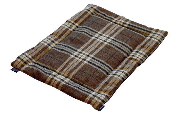 kudos ligmat draadkooi / bench bosco bruin #95;_76x52 cm