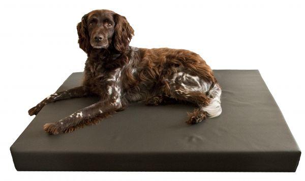 Hd orthopedisch honden ligbed bruin
