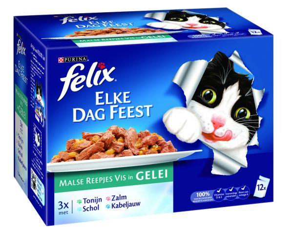 Felix Pouch Elke Dag Feest Vis