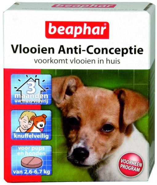 Beaphar kleine hond 2,6-6,7 kg vlooien anticonceptie