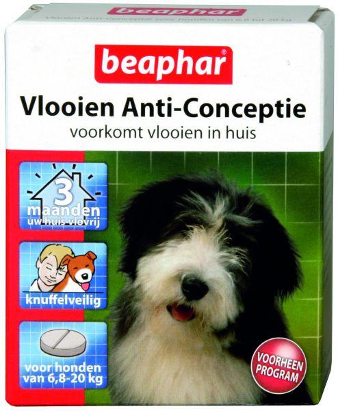 Beaphar middel hond 6,8-20 kg vlooien anticonceptie