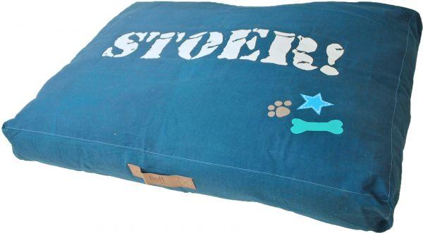 Lief hondenkussen lounge stoer blauw slechts u ac voor cm