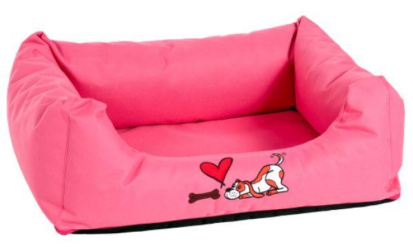 karlie hondenbed montenegro roze #95;_120 cm