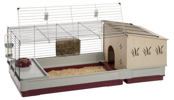 Afbeelding Ferplast konijnenkooi krolik 140 plus 142x60x50 cm
