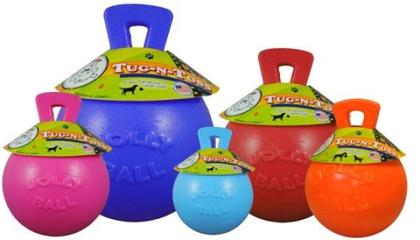 Jolly Tug-n-Toss Large (20 cm) voor honden Roze