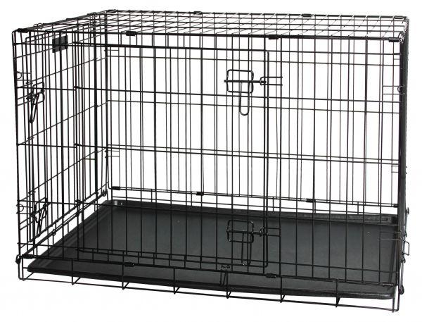 draadkooi / bench hond classic #95;_62x43,5x50 cm