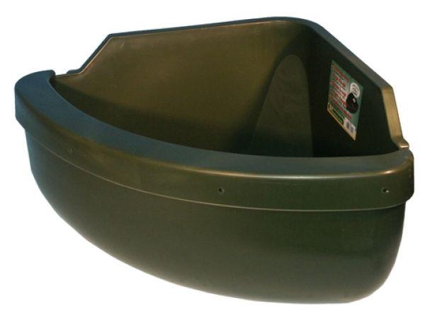 Paardenvoerbak 31L Met antimorsrand Groen 60x30x30 cm Inh. 31 lt Paard Excellent