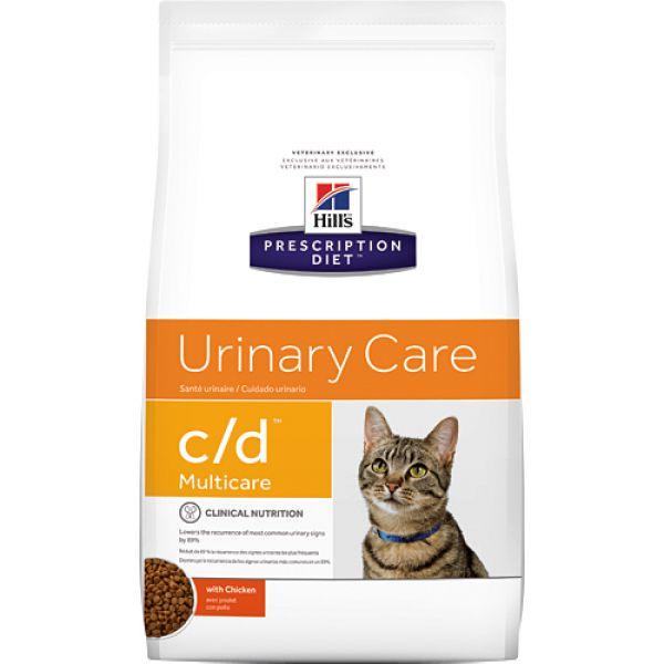 Hill\'s Feline C/d Multicare Chicken Kattenvoer slechts € 15,49 voor ...
