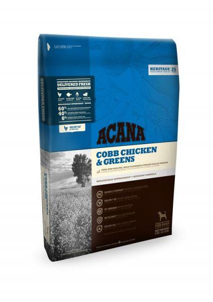 ACANA HERITAGE COBB CHICKEN & GREENS HONDENVOER #95;_11,4 KG