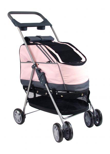 petcomfort buggy roze #95;_44x60x94 cm