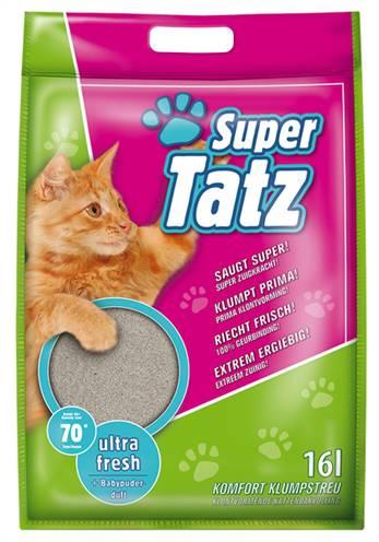 SUPER TATZ ULTRA FRESH MET BABYPOEDER GEUR