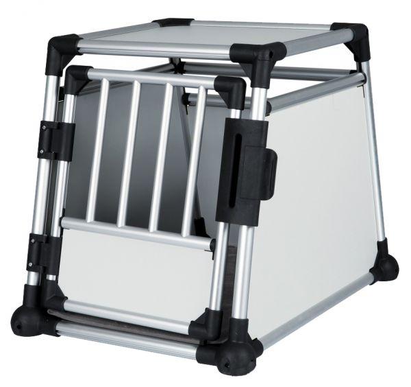 trixie transportbox aluminium #95;_m 55x62x78 cm