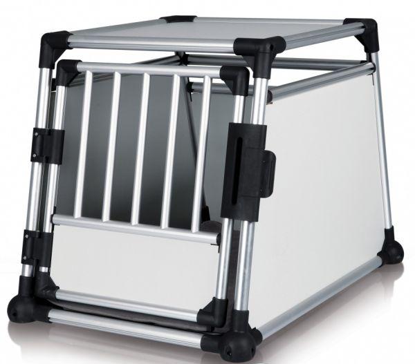 trixie transportbox aluminium #95;_m-l 63x65x90 cm