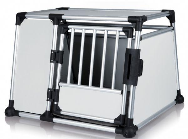 trixie transportbox aluminium #95;_l 93x64x81 cm