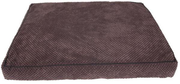karlie hondenkussen corduroy rechthoekig bruin #95;_40x25x8 cm