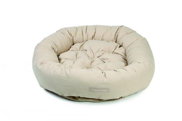 beeztees hondenmand nano donut zand #95;_107 cm