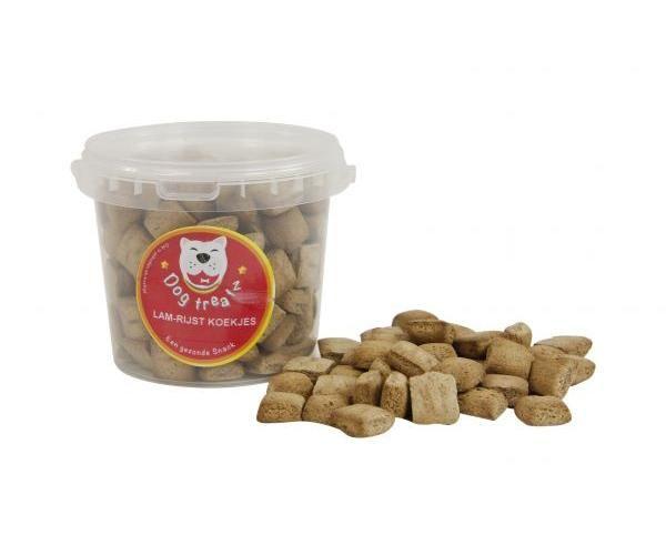 dog treatz lam/rijst koekjes #95;_1 ltr