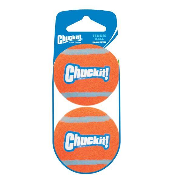 Voordeelset tennisbal hond small 2 stuks Chuckit (NIEUW)