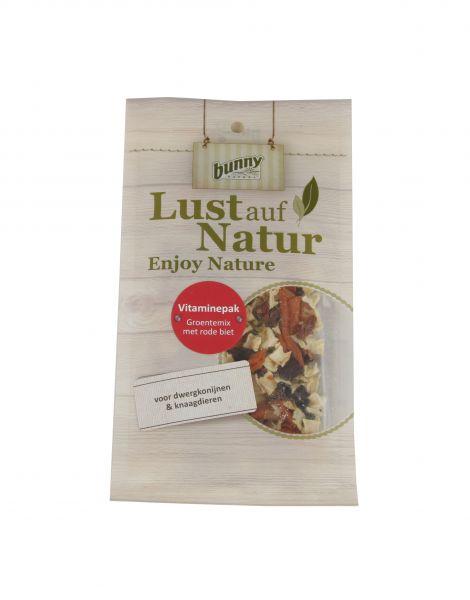 Afbeelding Bunny Nature Enjoy Nature Vitaminepak - Konijnen- knaagdierensnack - Rode Biet 50 g