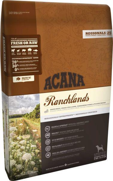 6 kg Acana regionals ranchlands dog hondenvoer Acana Goedkoop
