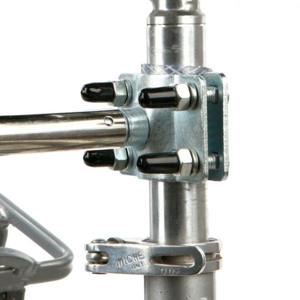 trixie beugel voor zadelpen biker set fietsbeugel #95;_