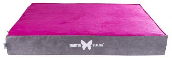hondenkussen matras master roze / grijs #95;_120x100x14 cm