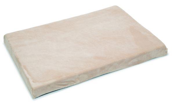 beeztees hondenkussen memory foam beige #95;_100x70x8 cm
