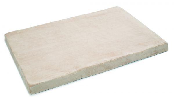 beeztees hondenkussen memory foam beige #95;_120x80x8 cm
