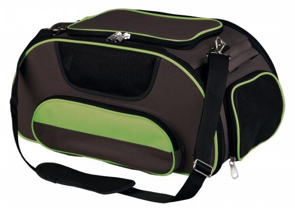 trixie hondentas airline wings bruin / groen #95;_28x23x46 cm