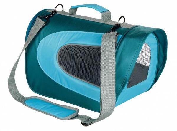 trixie hondentas alina aqua / blauw #95;_22x23x35 cm