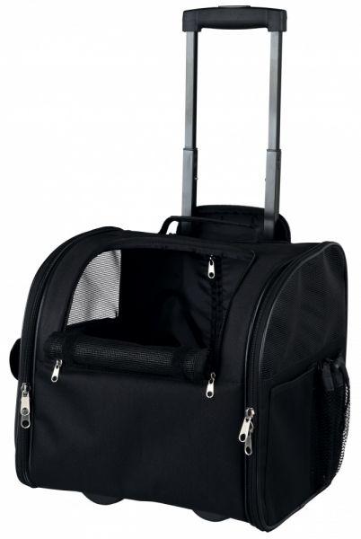 trixie reismand trolley fero zwart #95;_37x36x28 cm