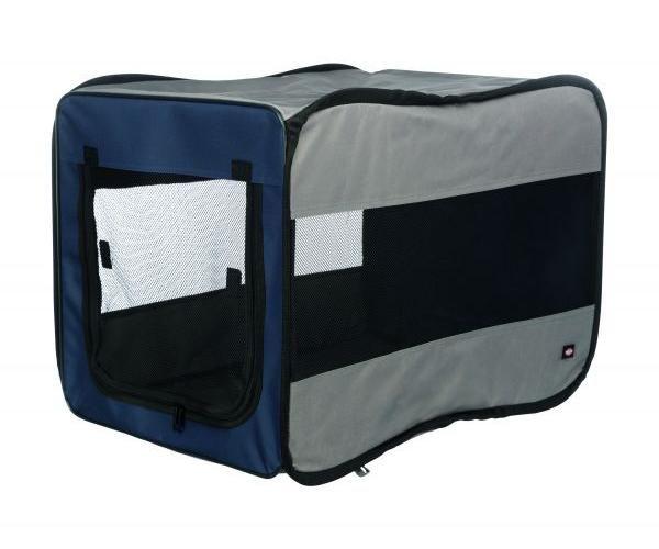 trixie reismand twister opvouwbaar donkerblauw / lichtblauw #95;_45x45x64 cm