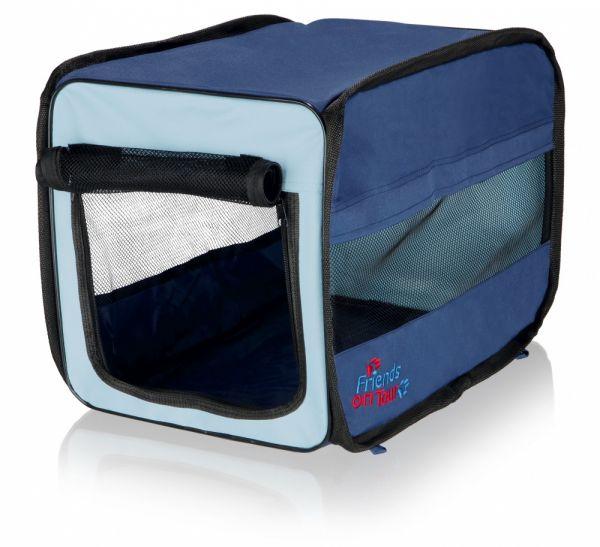 trixie reismand twister opvouwbaar donkerblauw / lichtblauw #95;_31x33x50 cm