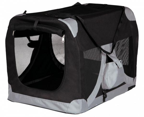 Afbeelding Trixie reismand zwart / grijs 35x35x50 cm