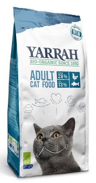 Yarrah Droogvoer Kat met Vis Bio 2,4 kg