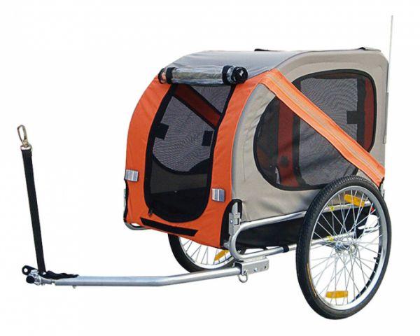 duvo+ pet trailer 1 fietskar #95;_76x56x65 cm