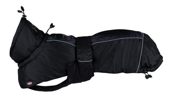 Trixie hondenjas winter prime zwart / grijs 62 cm