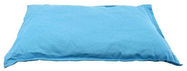 Woefwoef hondenkussen comfort panama blauw 100x70 cm
