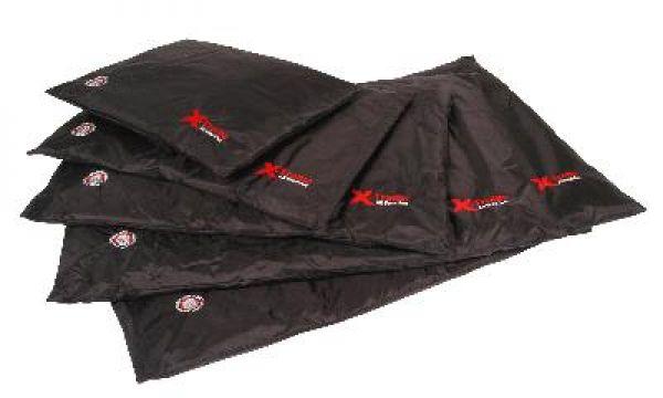 doggy bagg duvet bench matras x-treme uni zwart #95;_small 58x45x4 cm