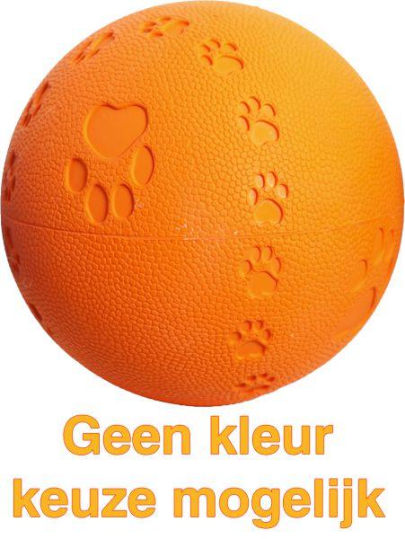 Boon 9,5 cm bal rubber pawprint-geluid