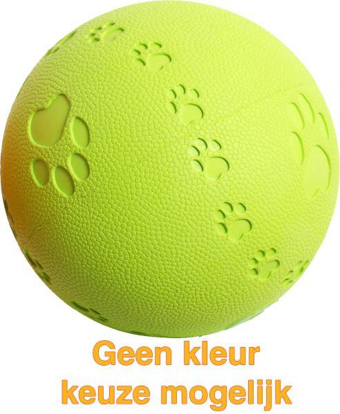 Boon 11 cm bal rubber pawprint-geluid