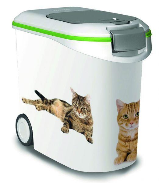 Curver voedselcontainer opdruk kat wit-groen
