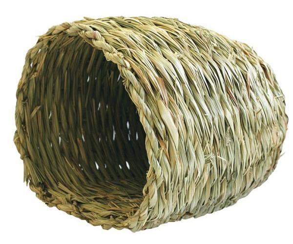 Afbeelding Nature First Grassy Nest - Kooi Accessoire - 23x27x20 cm Naturel