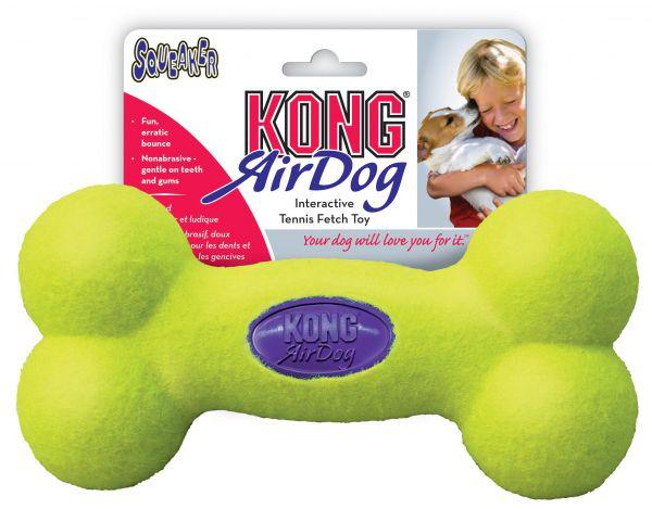 Kong medium air squeaker bot