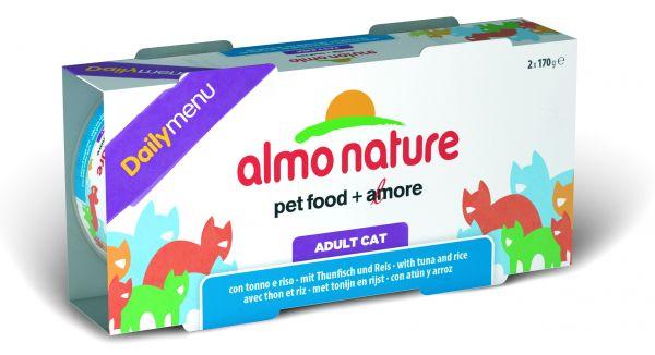 Almo nature cat pate tonijn-rijst